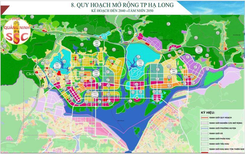 Quy hoạch mở rộng thành phố Hạ Long