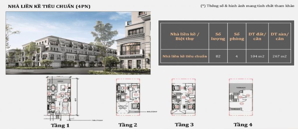 Thiết kế căn hộ dự án GrandBay Townhouse Hạ Long 2